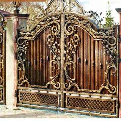 Кованые ворота В166