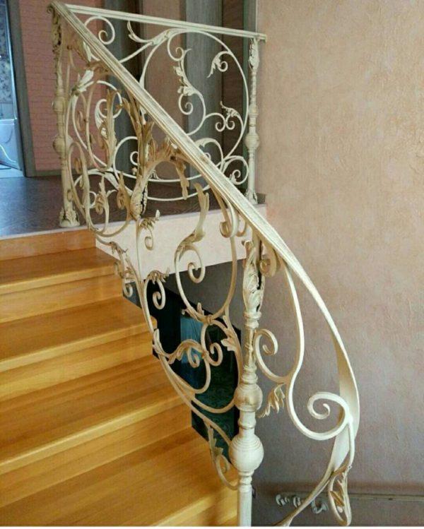 Кованые перила для балкона, лестниц, крыльца П164
