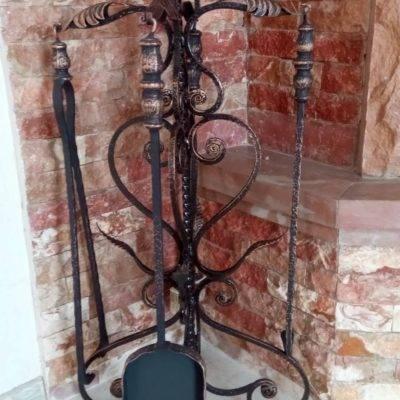 Кованые каминные наборы Кн-26