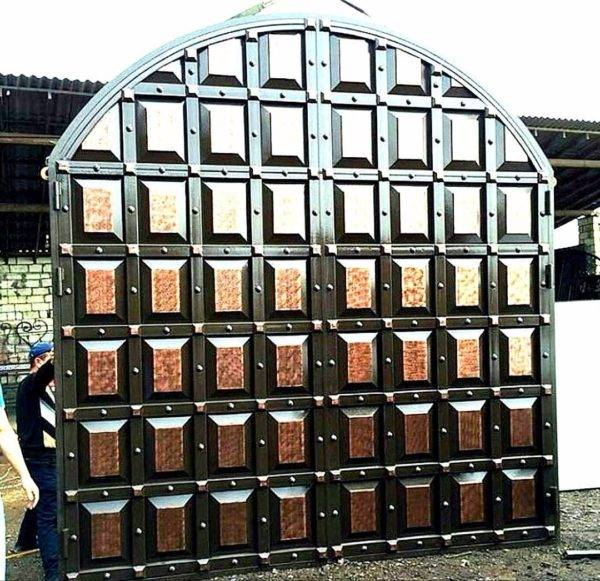 Кованые ворота V-153