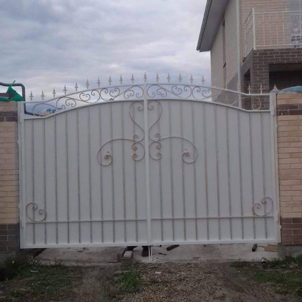 Кованые ворота V-174