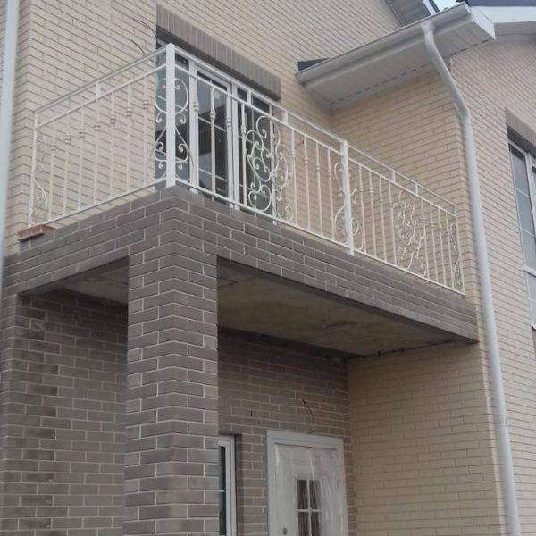Кованые балконы Б-76