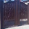 Кованые ворота v-181