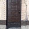 Кованые ворота v185