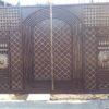 Кованые ворота V-189
