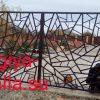 Кованые ворота V191