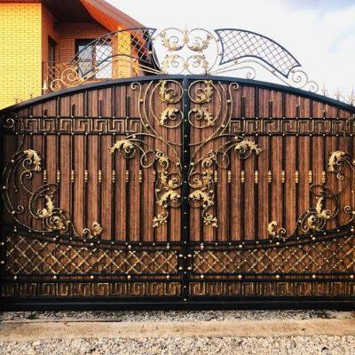 Кованые ворота V194